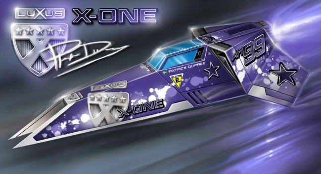 No.99 Luxus X-One - Astro Racer by alien99