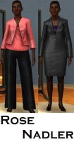 Rose Nadler- Sims 3 by pudn