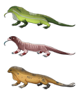 Leguan: 3 Designs Adoptable (2) by Adoptierchen