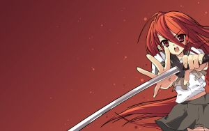 Shakugan no Shana wallpaper v1 by Pencil-Dragonslayer