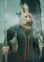Rabbit Warrior by UselessHopeless