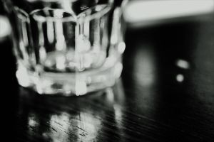 Glass of water by S-Banh
