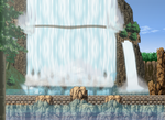 North Grounds - Huge Waterfall by saturnthereploid