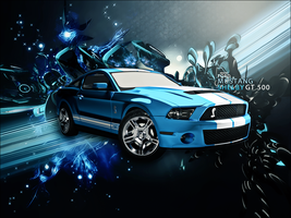 Mustang Shelby. by Akashishere