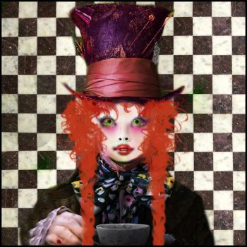 I'm Mad Hatter by AneeshNina