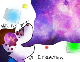 :VC: With the Power of Creation by GlassFeline
