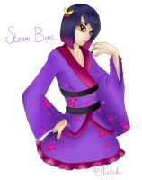 Gaiaonline: Steam Buns by Pink-chi