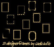 21 frames-boxes by GaelicAoife