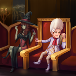Comission: More wine plz by Yamineftis