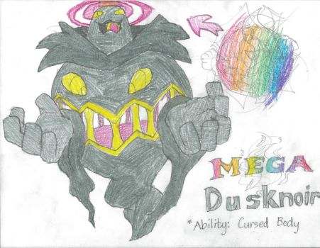 Mega Dusknoir by Buijesty