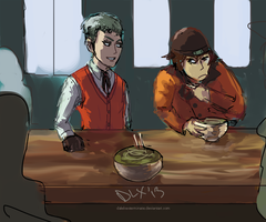 I'll have what he's having. by Phinnimonster