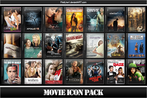 Movie Icon Pack 41 by FirstLine1