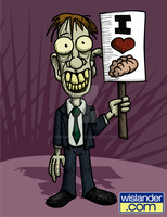 I Heart Zombies by wislander