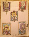 Portraits of the Five Yamis by Camilia-Chan