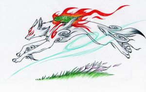 Okami Amaterasu by Shadow-of-Destiny
