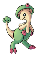 Day 2: Breloom by PrinceofSpirits