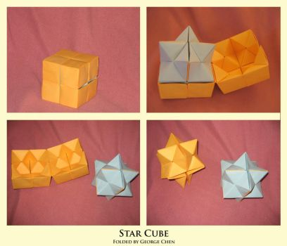 Star Cube by unknowninspiration