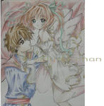 NT Sakura and Syaoran, by shiyaechan by NewTrials