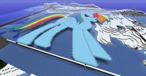 Rainbow Dash Pixel Art by Thats-a-keeper217