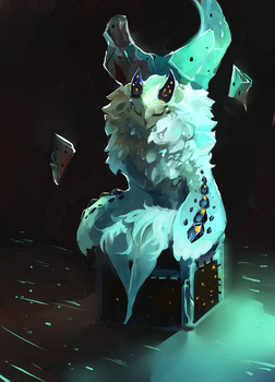 Queen's Throne by Happy-sorry