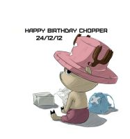 Happy Birthday Chopper by InsanitylittleRed
