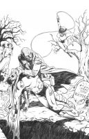 Batman -- homage to Neal Adams by robbyv