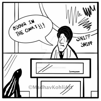Comic #1: Odour In The Court by madhavkohliart