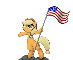 AS AMERICAN AS APPLE PIE by Roxandasher