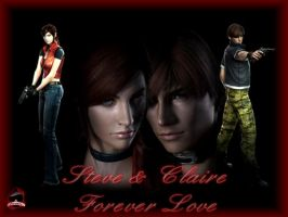 Claire Steve Forever Love by evilsasu