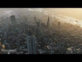 King Kong - New York by 3DnuTTa