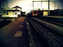 a train station by ruiManuelR