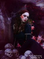 A vampire and her rat scene by Fae-Melie-Melusine