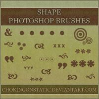 shape brushes 1 by chokingonstatic