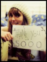 Thank you for 5000 by NoDiceJellyfish