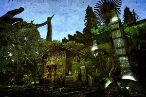 Steampunk mill by ToysoldierThor