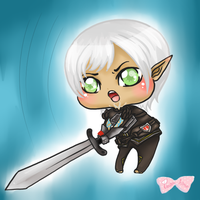 Mighty Blow- Fenris by Tsukahime