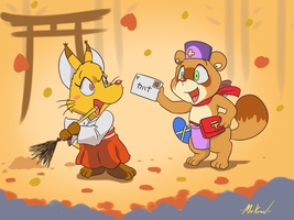 Autumn letter by Machu