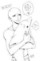 Bald Toshio by pink-KILLER