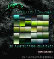 Emerald Dragon Psp Gradients by ElvenSword
