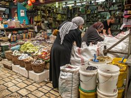 At Akko market by ShlomitMessica