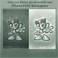 iPhone Fella Wallpapers 2.0 by de-Mote