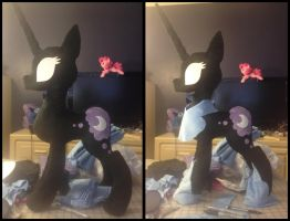 Nightmare Moon Plush WIP by AlicornParty