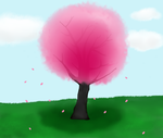 Cherry Blossom Tree by Nerdy-pixel-girl