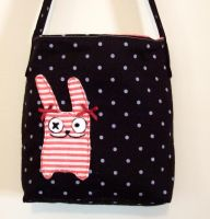 emo bunny bag by yael360