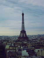 eiffle tower by toxicdots