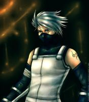 Dirty Copy Ninja Kakashi by scubbs