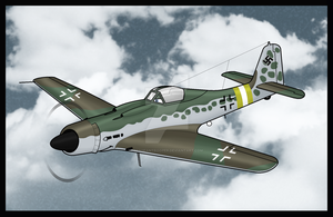 Warbirds: Ludwig Fw-190D-9 by TheAngryFishbed