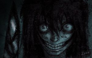 Jeff the killer smile by Zlata666