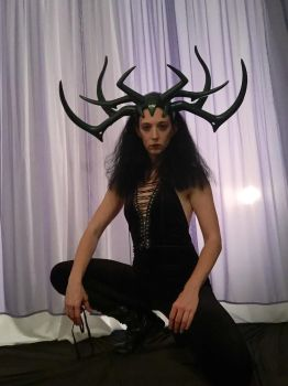 Hela Headdress - Thor Ragnarok - Hela Cosplay by Thom-Heap