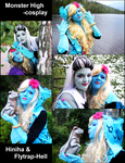 Monster High Cosplay 2014 by Hiniha